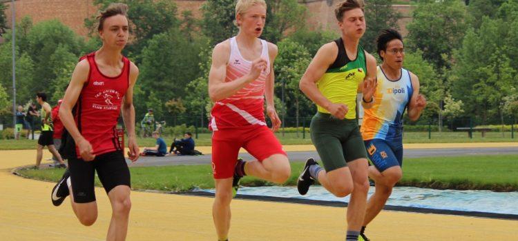Běžecký mítink na zlaté dráze